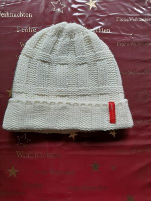 Esprit Knitted Hat natural white