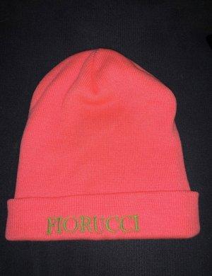 Fiorucci Cappello in tessuto fucsia neon