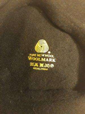 Mütze französisch Baskenmutze schwarz wolle