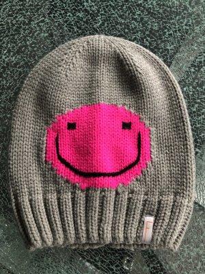 Mütze Freaky Heads grau/pink one size neu!!!