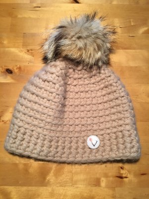 Kabo Sombrero de piel beige