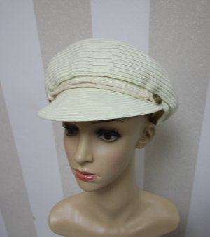 Visor Cap white-cream
