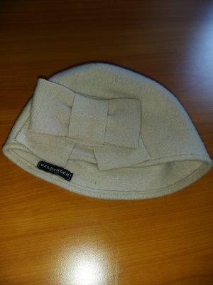 Seeberger Chapeau en laine blanc cassé-beige clair laine