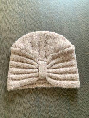 Primark Knitted Hat dusky pink