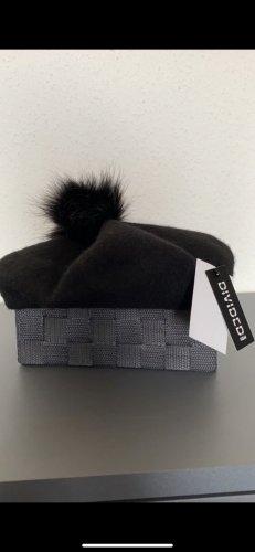 Mütze in schwarz