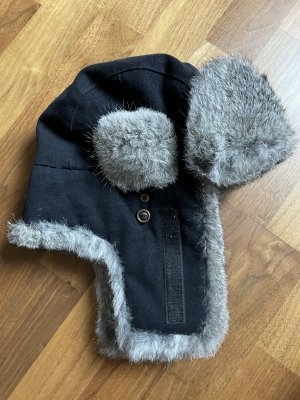 STETSON Sombrero de piel taupe-negro Pelaje
