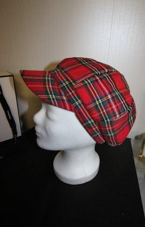 Gorra de plato rojo
