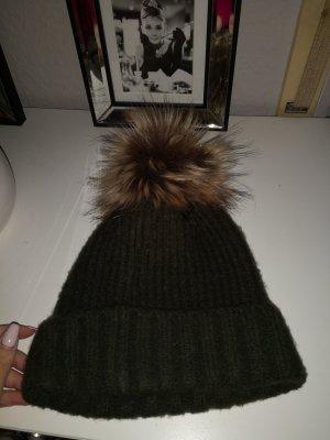 Pimkie Cappello in pelliccia multicolore