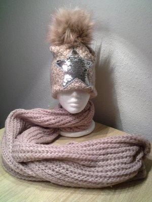 Mütze + Loop-Schal