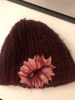 Fabric Hat bordeaux