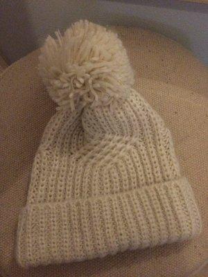 Accessoires Crochet Cap natural white