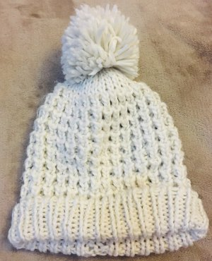 Accessorize Knitted Hat natural white