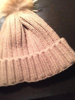 Futrzana czapka jasnobrązowy