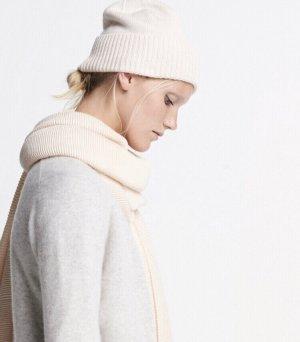 someday Chapeau en tricot crème