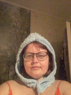 Sombrero de Laponia azul bebé