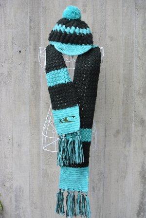 ONEILL Bonnet à pompon turquoise