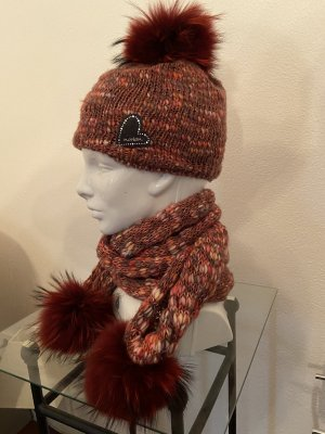 norton Knitted Hat bordeaux