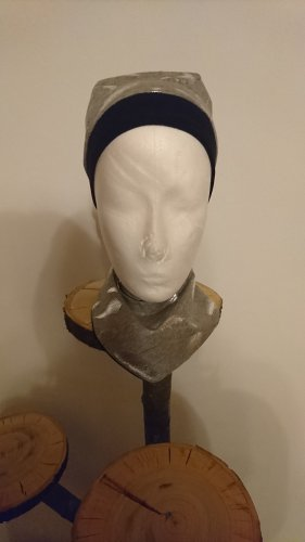 Softwalk Handmade Gorro negro-gris