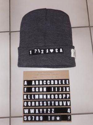 Moda Italiana Fabric Hat grey