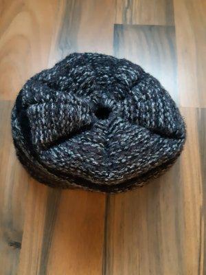 Amazon fashion Cappello a maglia nero-grigio scuro