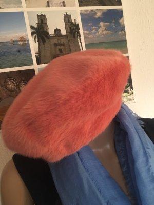 Barts Cappello in pelliccia salmone