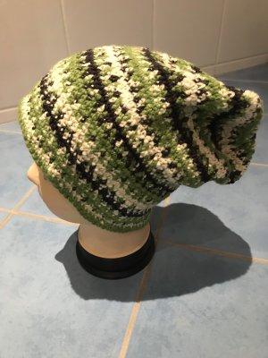 Unikat Einzelstück Cappello a maglia multicolore