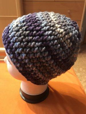 Handmade Bonnet en crochet multicolore