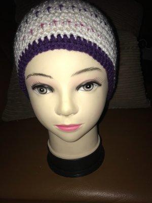 Unikat Einzelstück Crochet Cap multicolored