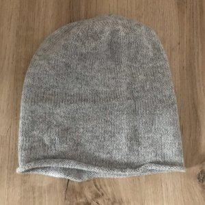 Pieces Chapeau en tricot gris-gris clair