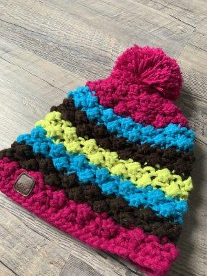 Protest Cappello a maglia multicolore