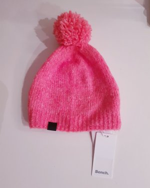 Bench Bobble Hat pink-bright red