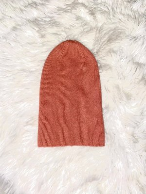 H&M Knitted Hat apricot-salmon