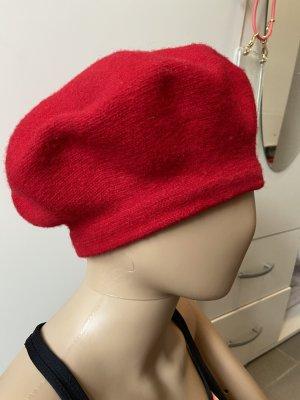 Zara Accesoires Gebreide Muts rood