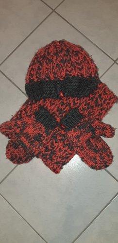 Edc Esprit Sombrero de punto gris-albaricoque