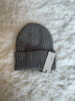 someday Knitted Hat grey-light grey
