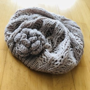 Knitted Hat natural white-nude