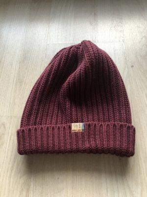Tommy Hilfiger Denim Knitted Hat purple