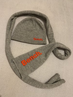 Bench Knitted Hat light grey
