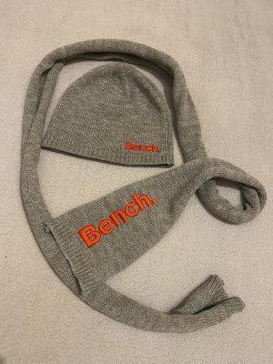 Bench Chapeau en tricot gris clair