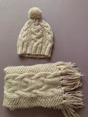 Accessorize Knitted Hat pink-dusky pink