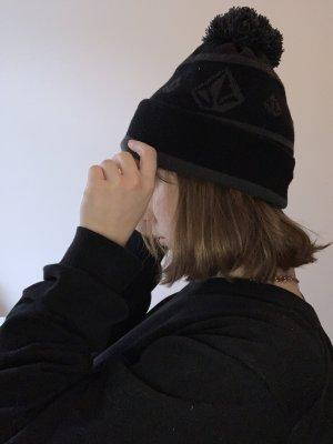 Volcom Cappello in tessuto nero-grigio