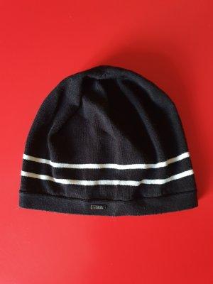 Armani Beanie white-black