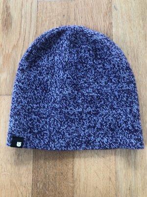 Burton Cappello a maglia lilla-bianco sporco