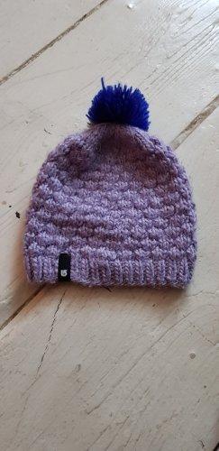 Burton Szydełkowana czapka jasny fiolet-fiolet