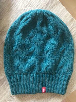 edc by Esprit Cappello a maglia turchese