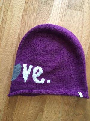 Esprit Knitted Hat purple