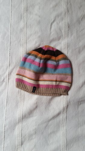 Esprit Knitted Hat multicolored cotton