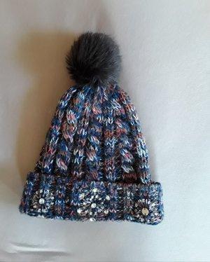 Esprit Cappello a maglia salmone-grigio ardesia