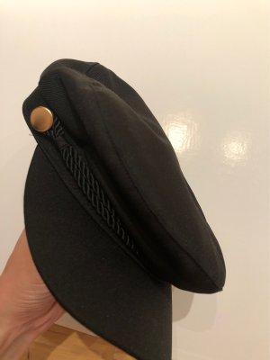 H&M Casquette à visière noir-bronze