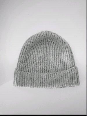 H&M Chapeau en tricot gris clair